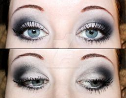 Smokey eyes eyeshadow by Creativemakeup