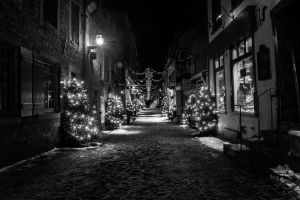 Le Petit Champlain (Winter time) by Maxfusion6