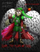 Link the king of evil by Luke-the-F0x