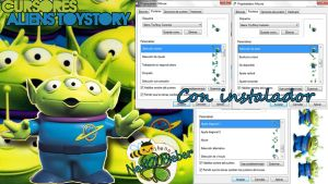 Cursores Aliens Toy Story by Cursorsandmore