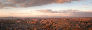 Marrakech Panorama by BrwK