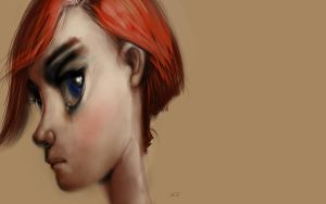 Redheaded Girl by PeppeTi