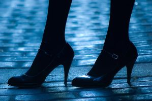 Heels and Cobblestones by nikongriffin