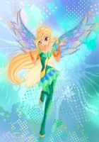 Winx club season 6 Daphne Bloomix by fantazyme