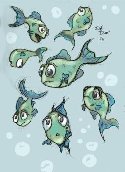 Leon the Lost Chromis colored by Gekigengar5
