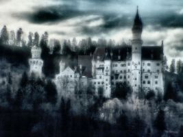 Gothic Castle by GukiCreations