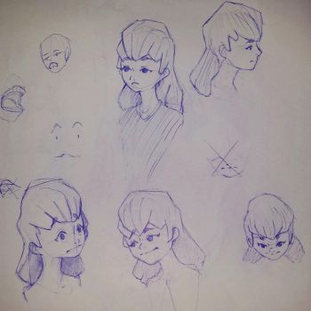 Expression sheet by Beast7Gamer