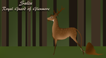 Salix | Stag | Royal Guard by amour-interdit