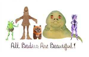 All Bodies Are Beautiful by kana-plz