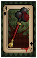 Ace of Clubs 11x17 by JeffPerryman