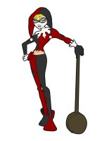 Q is for Harley Quinn by jksketch