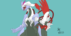 Shiny White Kyurem by ThatCharizardGuy
