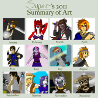 Art Summary 2011 by supervanman64