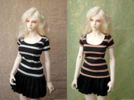 EID Striped Tops by kawaiimon