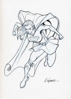 Supergirl commish by Uncle-Gus