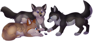 (25/25) Puppies by PinkPoodle543