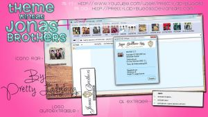 Theme WinRAR Jonas Brothers by PrettyLadybug093