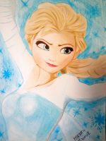 frozen - elsa by hikruschips