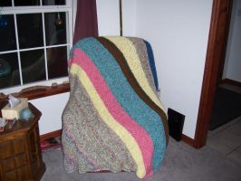 Fugly Blanket OF DOOM by cyla-knits