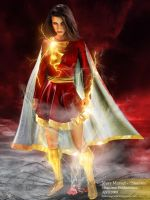 Mary Marvel - 'Shazam' by JimCorrigan