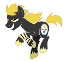 Go Steelers by FillyBlue