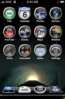 iPhone Desktop: Dec. 6th, 2007 by SlimTrashman