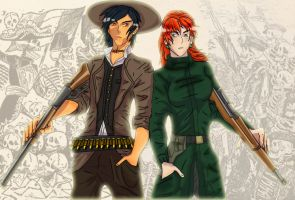 Ireland and Mexico  postal by chaos-dark-lord