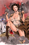 Leia by Irregulart
