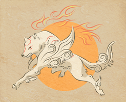 Amaterasu-omikami by TheFightingMongooses