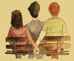 Harry, Ron and Hermione. by zoeychick