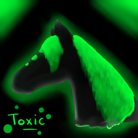 Toxic sketch by xCoyote