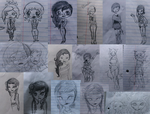 Doodle Page- May 2014 by floraxj9