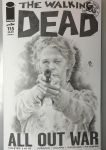 Walking Dead Carol sketch cover by abraun