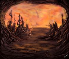 MTG - Mirrodin Furnace by CarlosHReis