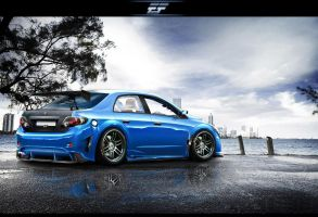 Toyota Corolla XRS by EmreFast