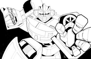 Wheeljack by ragelion