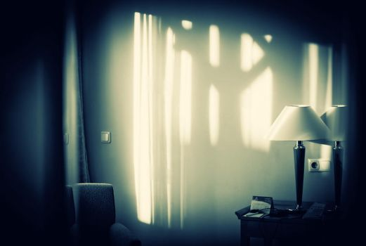 sunlight in the hotel by Aspyrin