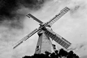 Windmill for the land. by JadeGreenbrooke