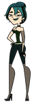 Total Drama Gwen - New Outfit by EvaHeartsArt