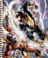 Sketch 40:Marvel vs. Adam by Cinar