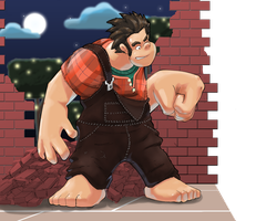 Wreck it Ralph by Purpleground02