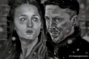 Sansa and Petyr by GalleyArts