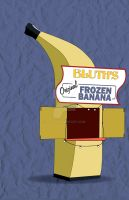 Banana Stand by Flich