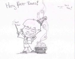 Harry Potter role play by R3dF0x