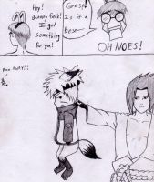Bunny Thing 1, Sasuke 1 by AssemblerOfSouls