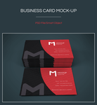 Freebie - Business Cards Mockup by GraphBerry