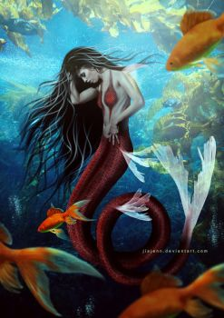 Mermaid VII by jiajenn