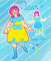 Joan Reference Sheet by Kama-ItaeteXIII
