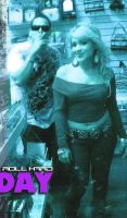 Jimrock and Angie at the mall, Cartel Stunners by OgJimrock