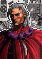 Magneto AOA - Sketch Card by J-Redd